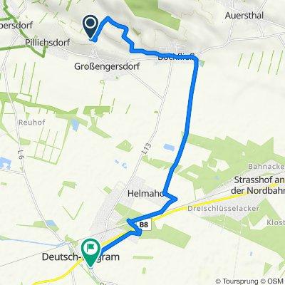 Route nach Am Kallendaberg 18, Deutsch-Wagram