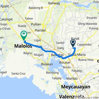 Bocaue to BulSU Laboratory High School, Malolos