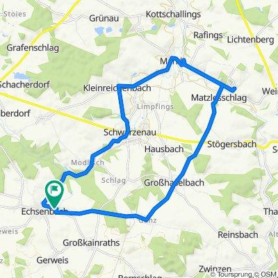 Nordhangstraße 40, Echsenbach nach Nordhangstraße 39, Echsenbach