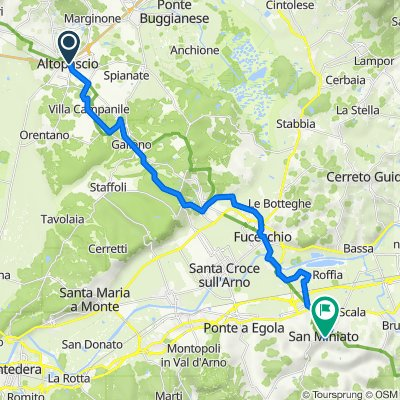 Tappa 29p - Da Altopascio a San Miniato