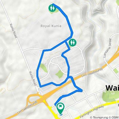 94-039 Waipahu St, Waipahu to 94-039 Waipahu St, Waipahu