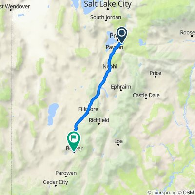 964–998 S 2600 E, Springville to 30 S 300 W, Beaver