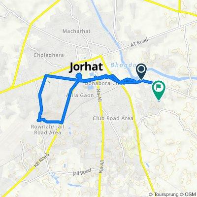 Garmur Road, Jorhat to Unnamed Road, Jorhat