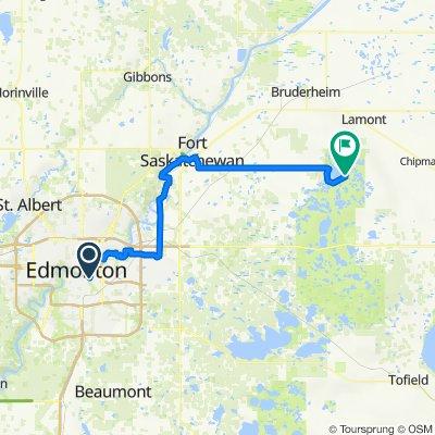 Elk Island Long Route