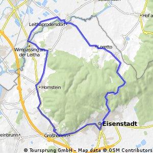 Leithagebirge Kurz