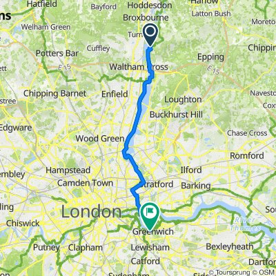 Sustrans: London Docklands and Lea Valley