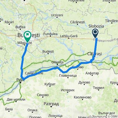 Ciulnita - Silistra - Slivo Pole - Giurgiu - Bucuresti