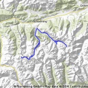 Schladming Oberhüttensee-Preintalerhütte