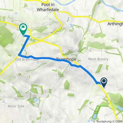 16 Kings Dr, Leeds to Quarry Farm Road, Pool In Wharfedale, Otley