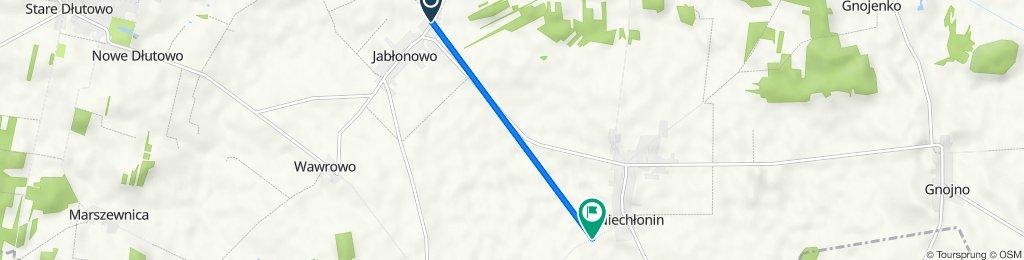 Trasa z Jabłonowo 91, Jabłonowo