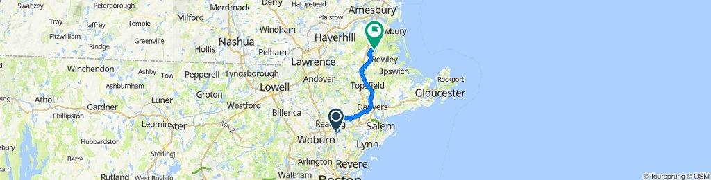 2 Smith St, Wakefield to 1–5 School St, Byfield