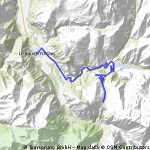 Le Bourg dÓisans - Le Deux Alpes