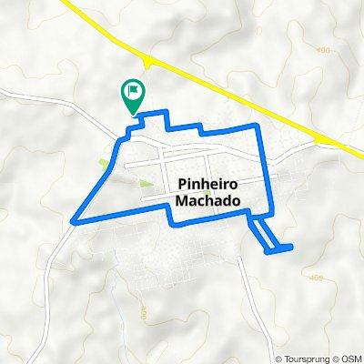 De Rua Mário Souza, 217–319, Pinheiro Machado a Rua Mário Souza, 217–319, Pinheiro Machado