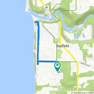 29 George St, Bayfield to 29 George St, Bayfield