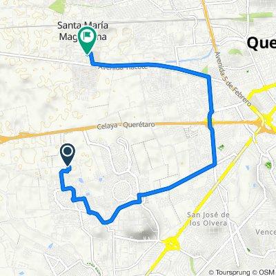 De Lirios a Avenida Miguel Hidalgo 56B, Santa María Magdalena