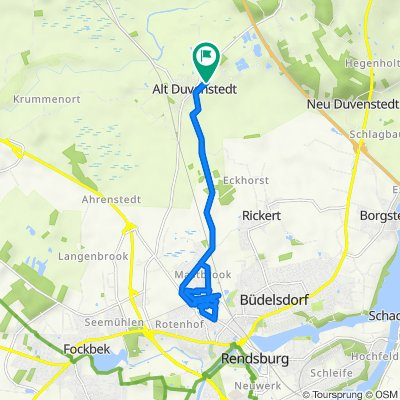 Bachweg 3A, Alt Duvenstedt nach Bachweg 4, Alt Duvenstedt