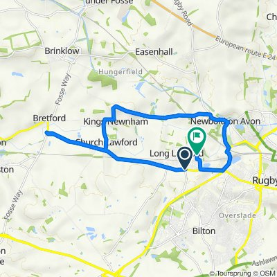 2–6 Rugby Road, Long Lawford, Rugby to 14 Welland Close, Rugby