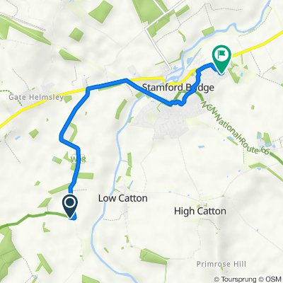 49–55 Scoreby Lane, Gate Helmsley, York to 7 Salvin Road, York