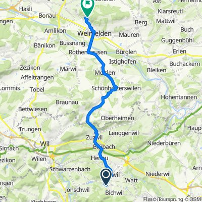 Im Buechwald 2B, Oberuzwil nach Thurbergstrasse 29, Weinfelden