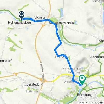 Friedensallee 27N, Staßfurt nach Turmweg 5, Bernburg (Saale)