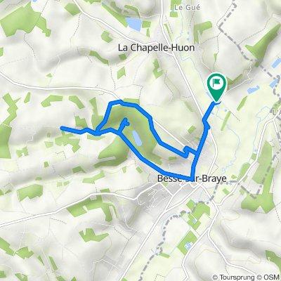 Le Pourpion, La Chapelle-Huon to Le Pourpion, La Chapelle-Huon