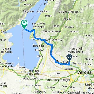 Da Via Nazionale del Brennero 87, Corrubbio a Torri del Benaco