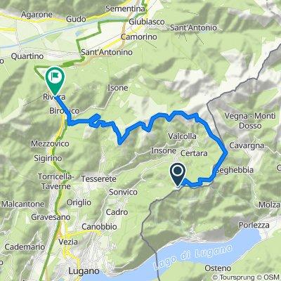 Lugano Bike Stage 2: Pairolo - Rivera