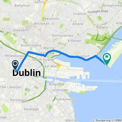 Coleraine Street 15 to County Dublin