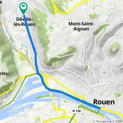 De 355 Route de Dieppe, Déville-lès-Rouen à 357 Route de Dieppe, Déville-lès-Rouen