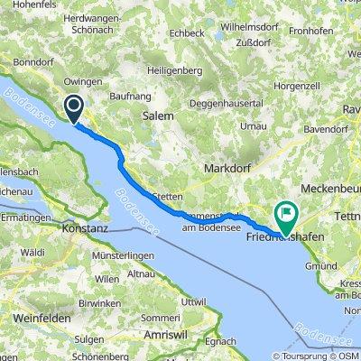 Bodensee-Radweg, Etappe 2