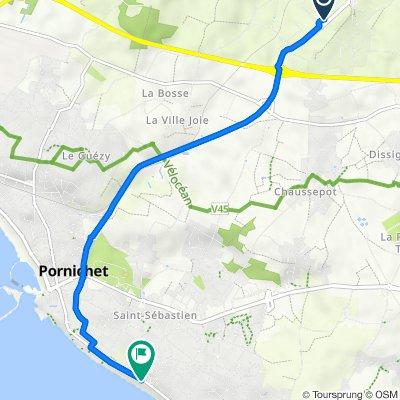 De 24 Rue Thomas Edison, Saint-Nazaire à 134 Avenue de Bonne Source, Pornichet