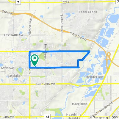 12883 Cherry Way, Thornton to 12883 Cherry Way, Thornton