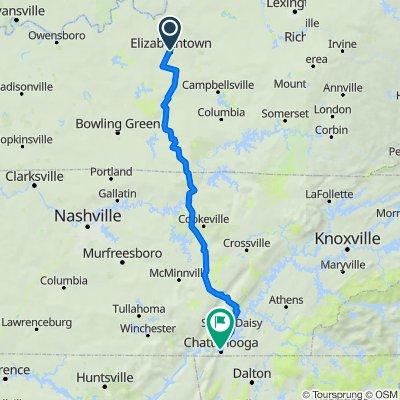 Bike Tour to Chattanooga