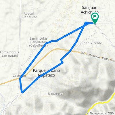 De Carretera San Alejo-Huayacocotla 29, Santa Ana Hueytlalpan a Avenida Benito Juárez 6, Santa Ana Hueytlalpan