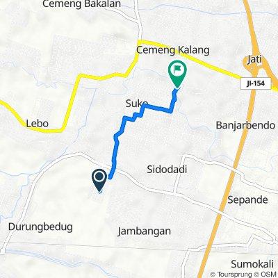 Unnamed Road, Kecamatan Candi to Suko, Sidoarjo Sub-Distrcit