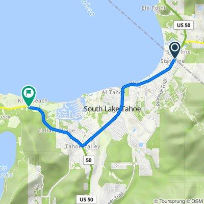 15 US-50, Stateline to 1900 Jameson Beach Rd, South Lake Tahoe