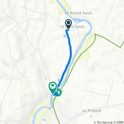 De 39 Impasse du Puits Commun, Argenton-l'Église à 410 Rue des Planches, Argenton-l'Église