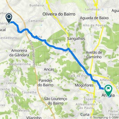 De Rua Santos Ferreira 1 a Rua Doutor Alexandre Seabra 37, Anadia