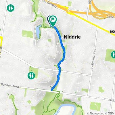 32 The Avenue, Niddrie to 2–12 Quarry Close, Niddrie