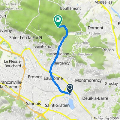 De Avenue Marie 4, Saint-Gratien à Route de Saint-Prix À Bouffemont