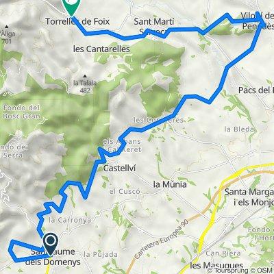 Penedès 360 Gravel  The Original - Etapa 2: Sant Jaume dels Domenys - Torrelles de Foix