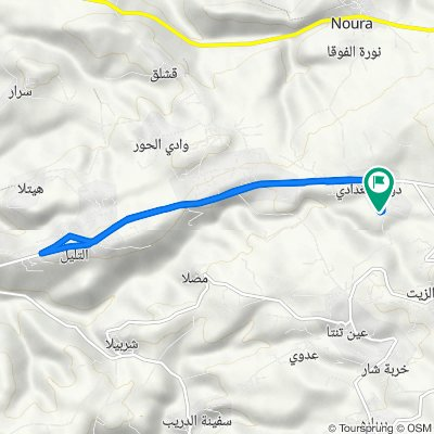 Route to Daousse & Baghda