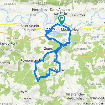 De 65 Rue de la République, Moulin-Neuf à 64 Rue de la République, Moulin-Neuf
