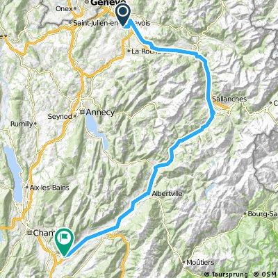 1988 - Tour de France - 03. Tag - L'Eculaz - Montmélian