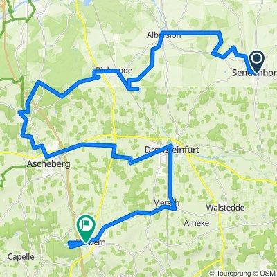 Sendenhorst - Herbern (100 Schlösser Route)
