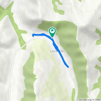 Unnamed Road, Laslău Mic to Unnamed Road, Laslău Mic