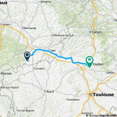 1988 - Tour de France - 06 Tag - Mézin - Saint-Nauphary
