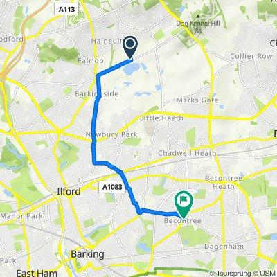 143 Forest Road, Ilford to 78 Martin Road, Dagenham