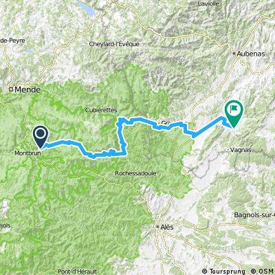 1988 - Tour de France - 09. Tag - Cocurès - Vallon-Pont-d'Arc