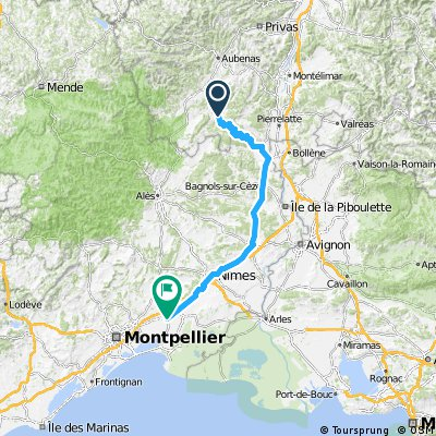 1988 - Tour de France - 10. Tag - Vallon-Pont-d'Arc - Lunel